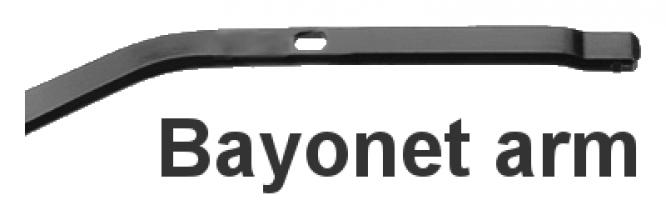 Крепление - Bayonet arm