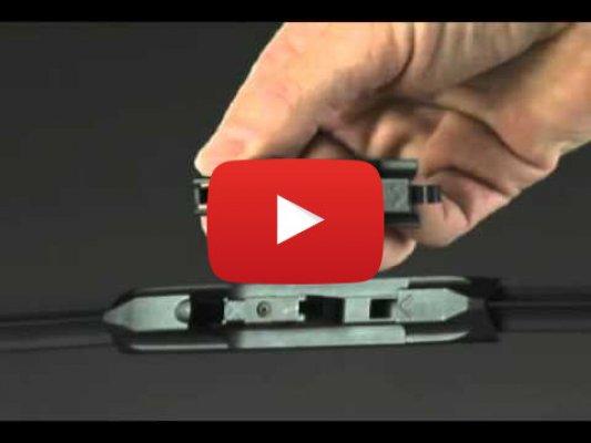 Установка крепления Side Pin (Trico)