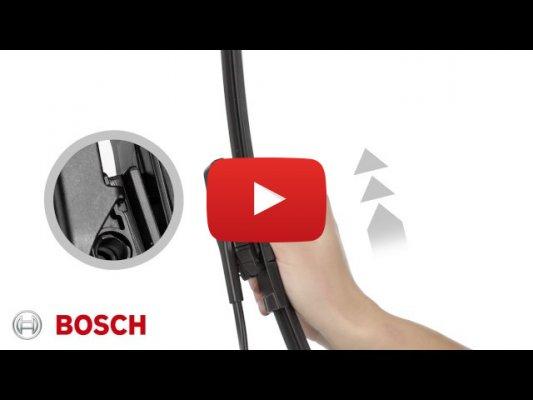 Как установить дворники Bosch на Renault Kaptur (2016г - 2020г производство Россия)