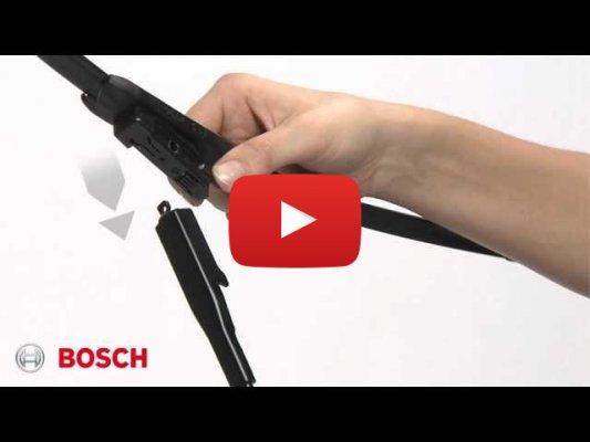 Установка крепления Pinch Tab (Bosch)