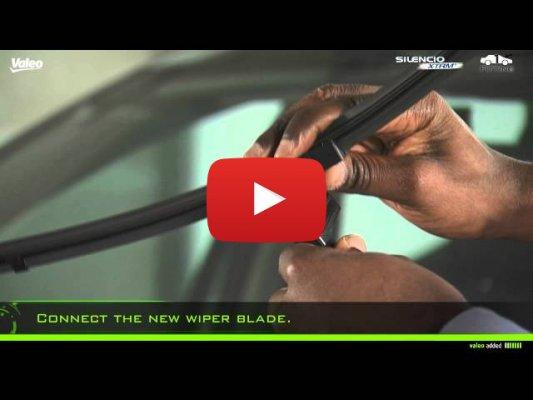 Установка крепления Side Lock (Valeo Silencio X-TRM)