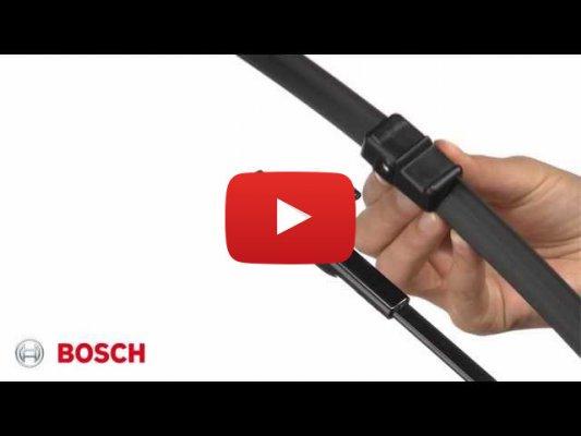 Установка крепления Side Pin (Bosch)