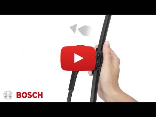 Как установить дворники Bosch на Mercedes-Benz C-Class (2014г - 2020г [W205])